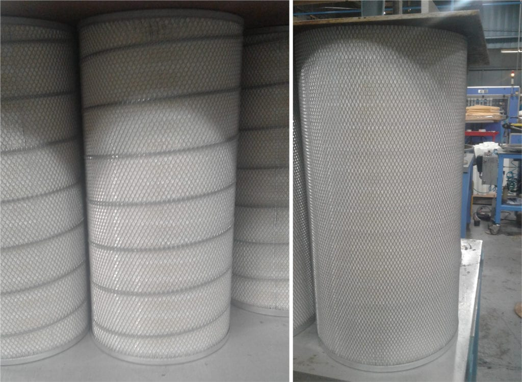 baghouse filter cartridges